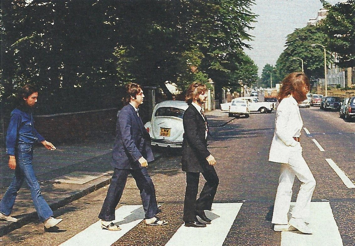 "Picture] Making History: The Shot Before The Beatles ""Abbey Road ..."