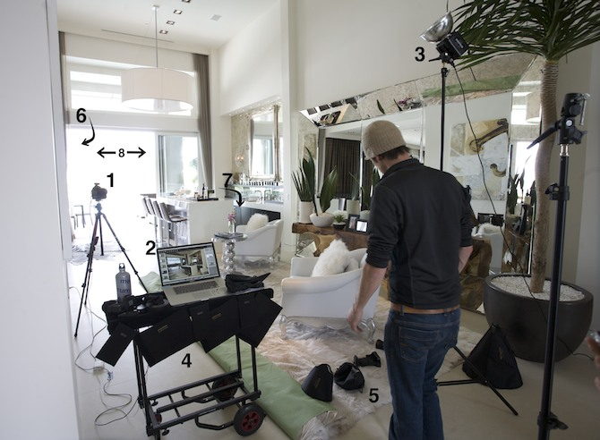 Bts the anatomy of a luxury interior shot fstoppers Best camera for interior photography