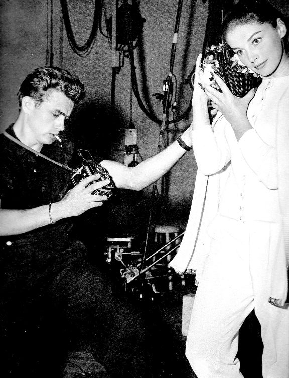 James Dean & Anna Maria Pierangeli