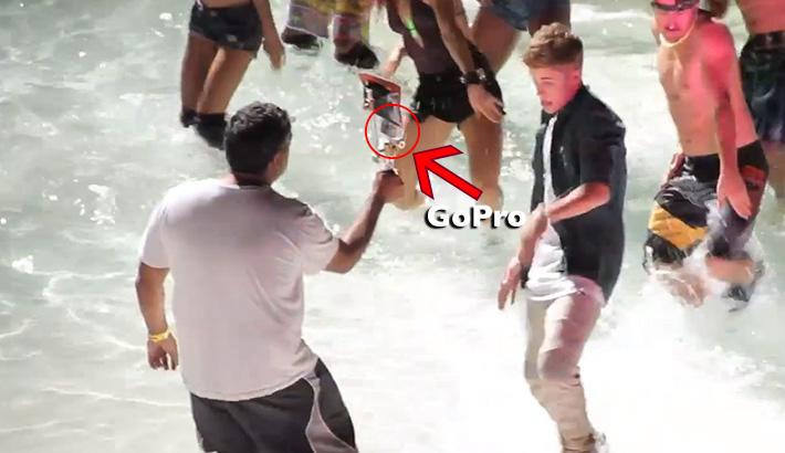 Justin Bieber GoPro BATB