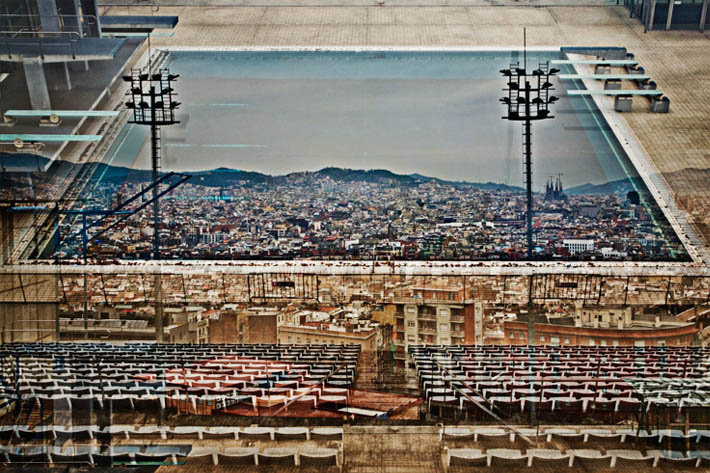 8 second exposures by Nicolas Ruel Barcelona