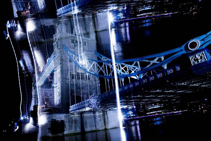8 second exposures by Nicolas Ruel London