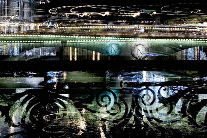 8 second exposures by Nicolas Ruel Paris