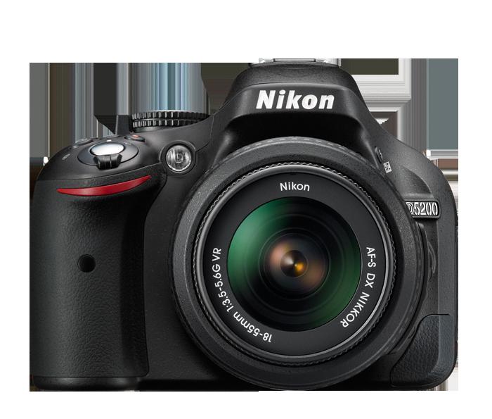 nikon D5200_front