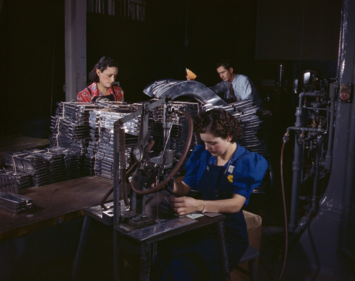 Sheet_metal_parts_are_numbered_with_this_pneumatic_numbering_machine_in_North_American's_sheet_metal_department,_North_American_Aviation,_Inc,_Inglewood,_Calif