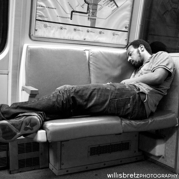 Sleep in Transit