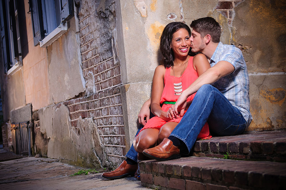 charleston south carolina engagement photos