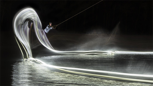 wakeboard light painting led 1