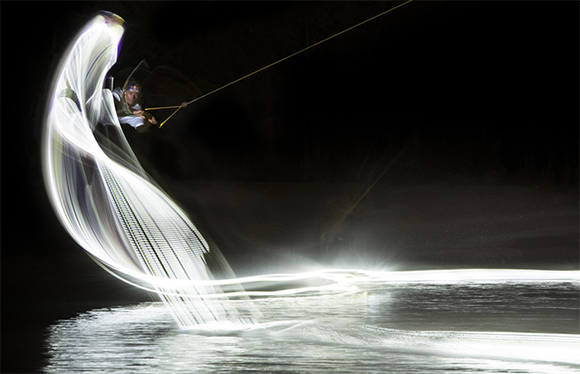 wakeboard light painting led 4