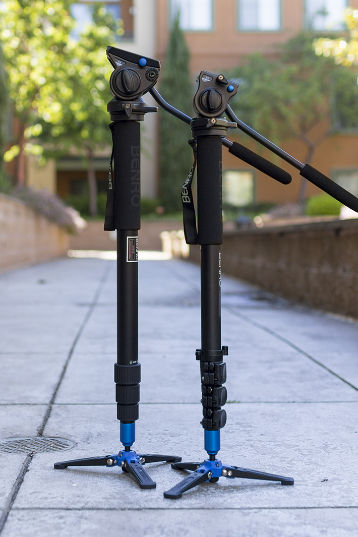 benro video monopod 4