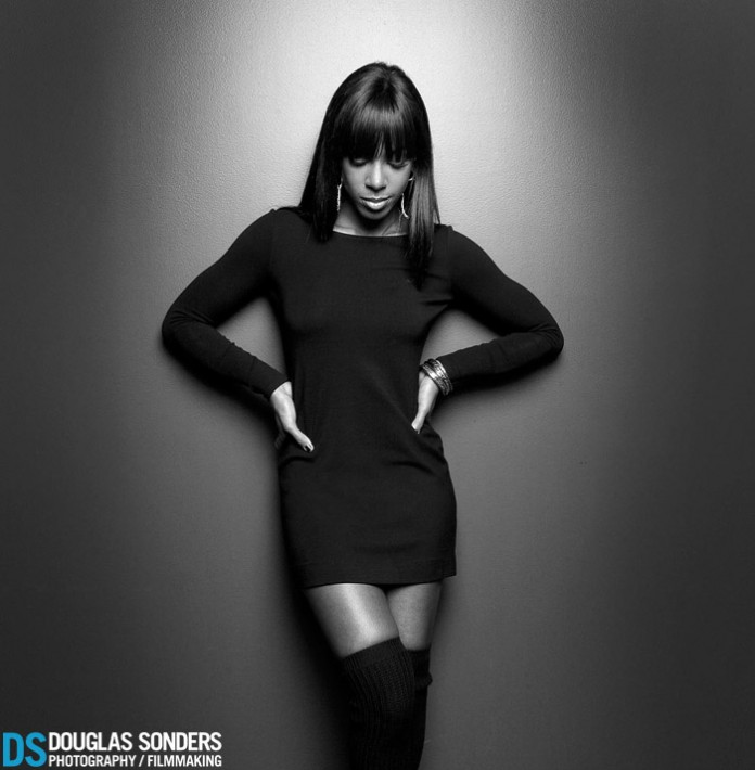 Kelly Rowland : 2 setups in about 10 minutes. This shot was a one light setup