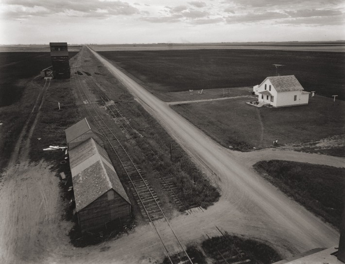 From Country Elevator, Red River Valley, MN,  1957