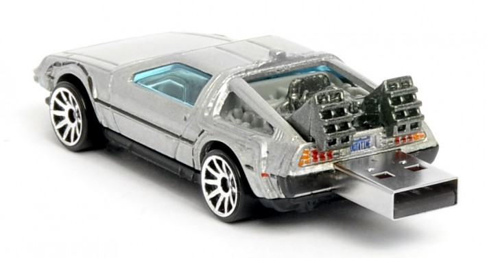 Back to the Future Flash Drive
