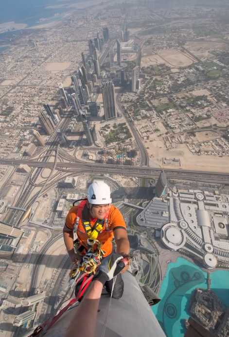 joe mcnally tallest buidling in the world burj khalifa