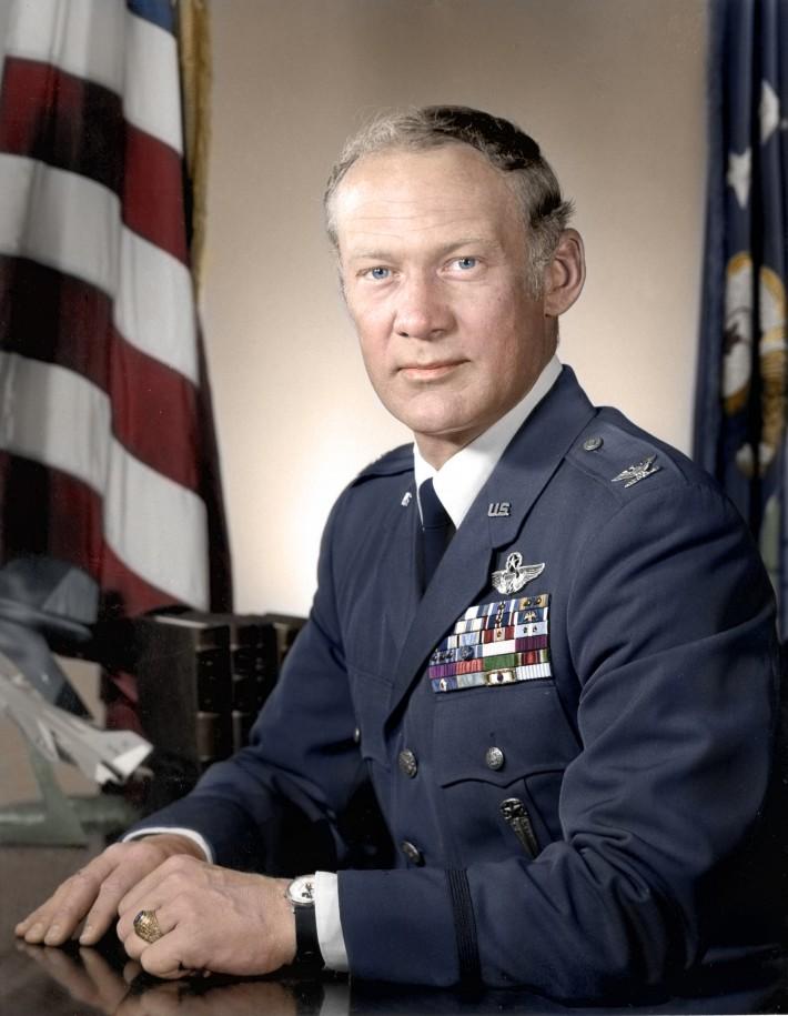 """Col. Edwin E. """"Buzz"""" Aldrin, Jr."""