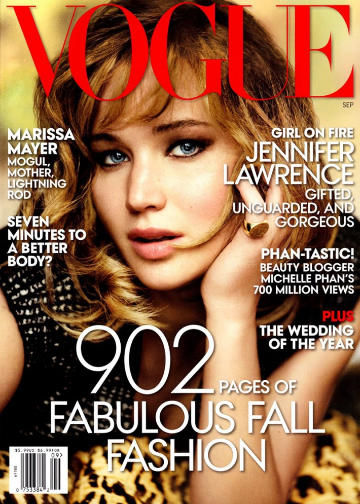vogue cover shot jennifer lawrence photo 1