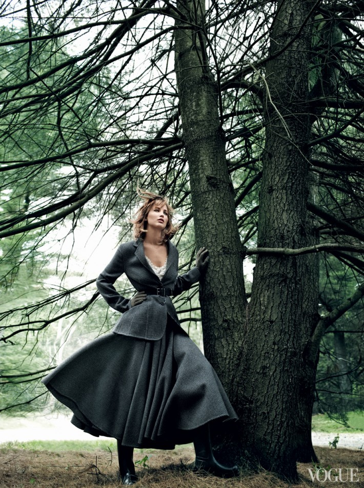 vogue cover shot jennifer lawrence photo 3