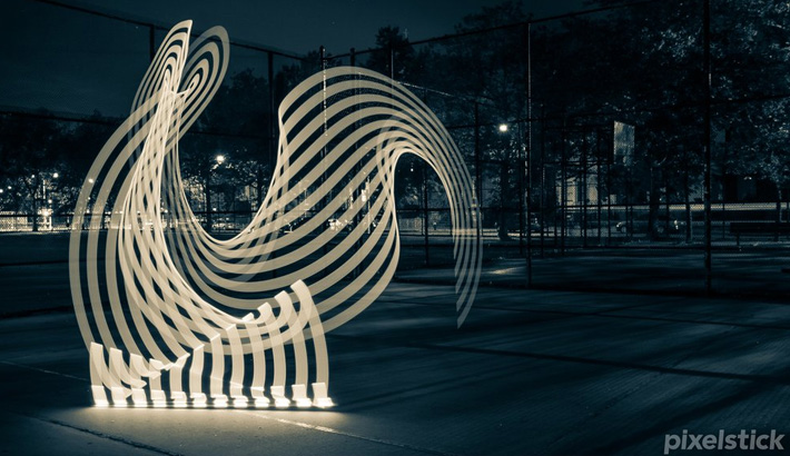 Fstoppers Pixelstick Light Painting Evolved 3