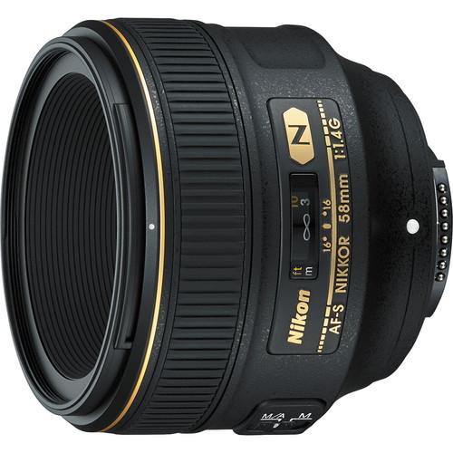 Nikon nikkor 58mm f 1.4g