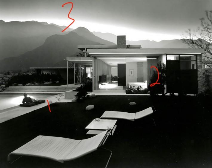 Richard Neutra's Kaufmann House.