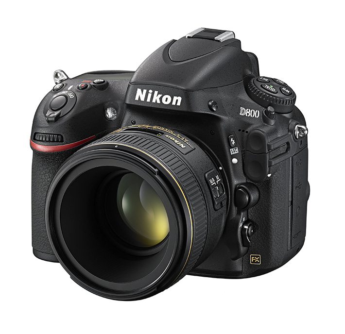 nikon nikkor 58mm f 1.4 g on camera