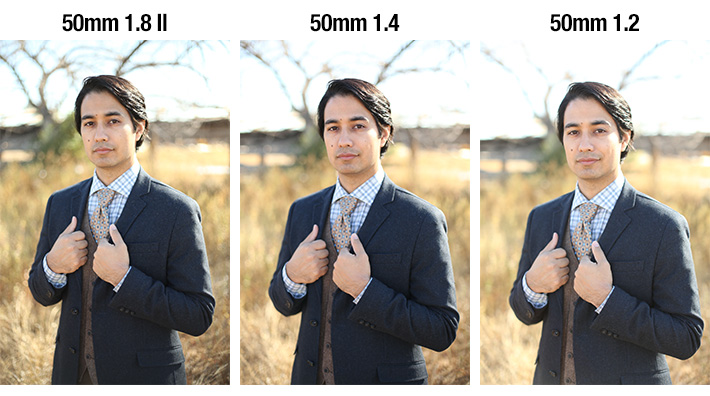 Comparison of All Three 50mm lenses Jeff