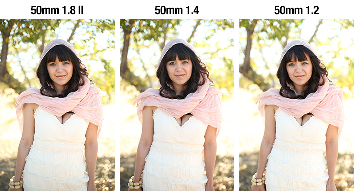 Comparison of All Three 50mm lenses Talia