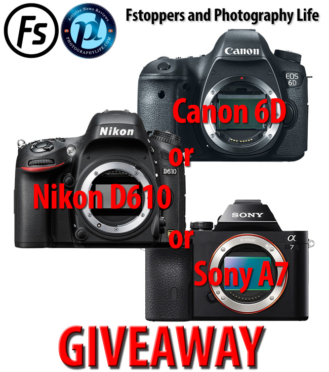 Photography Life Fstoppers Giveaway