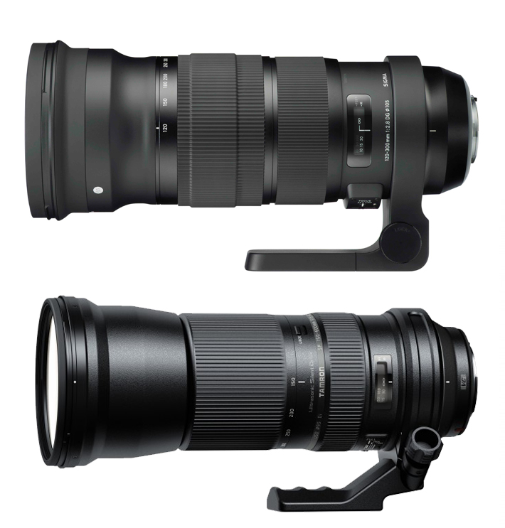 Sigma Tamron new design similar Comparison