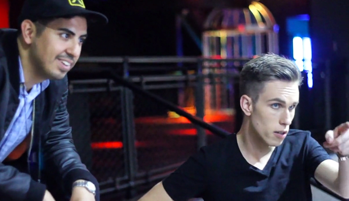 Kyle Padilla and Nicky Romero