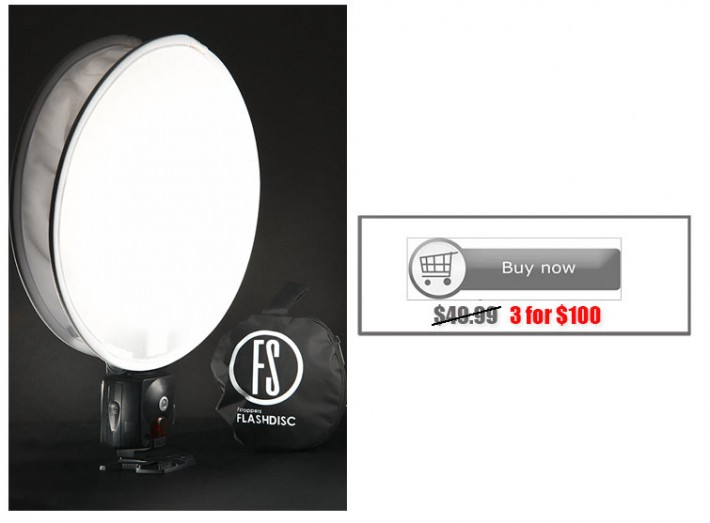 flash disc folding softbox