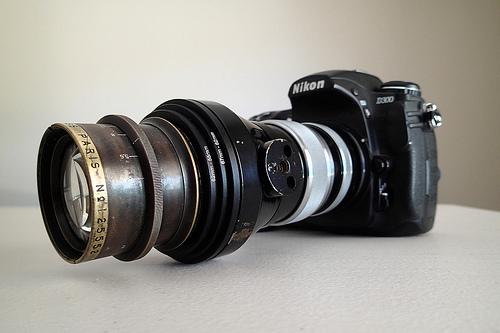 Krauss Tessar 180mm Lens