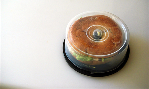 Fstoppers Burning CD Era out Bagel Sandwich Holder
