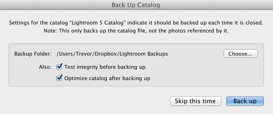 Fstoppers Lightroom Catalog Backup 3