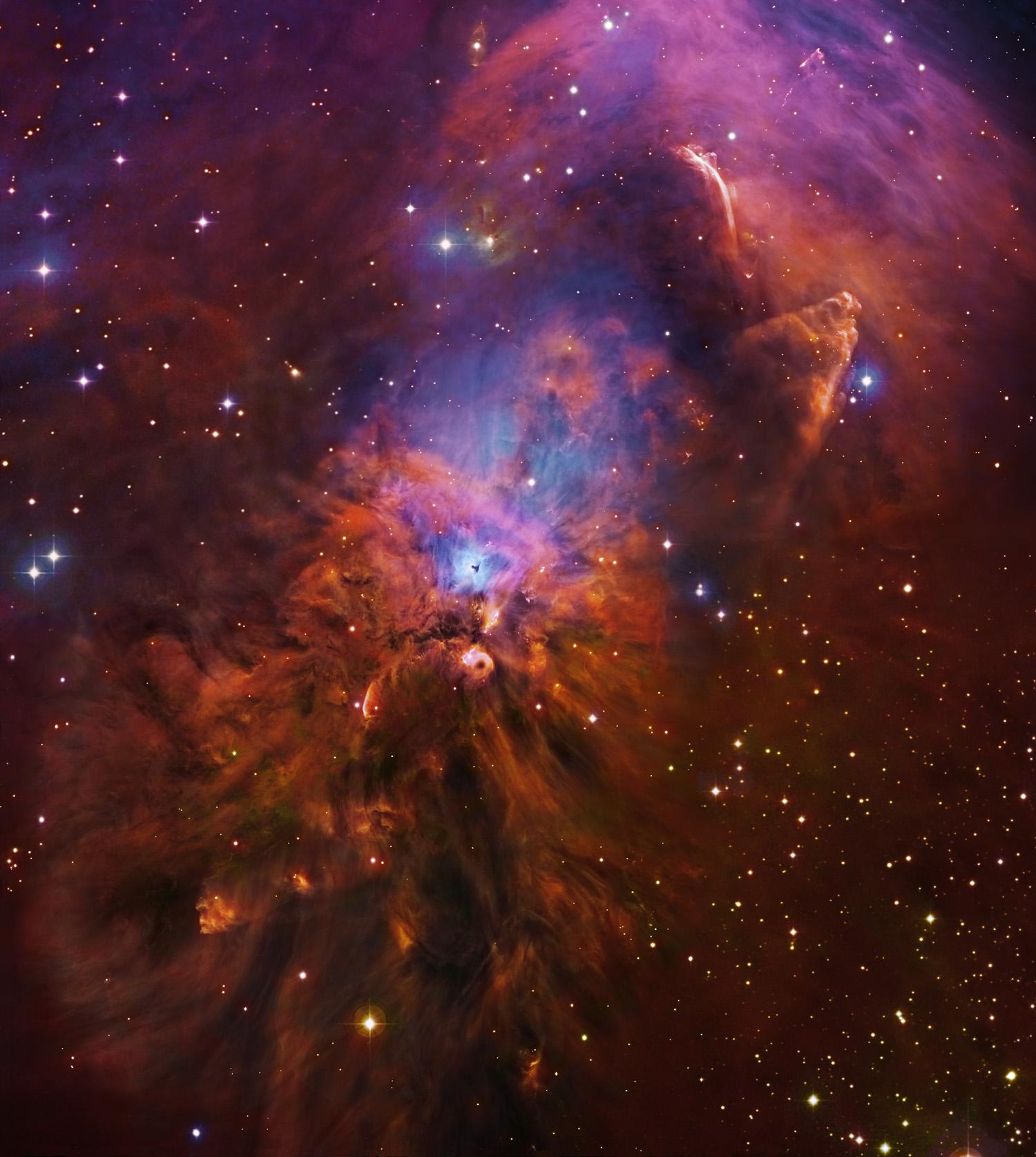 NGC1999-Subaru-HST-DSS-M robert gendler fstoppers photography stars gallaxy astronomy