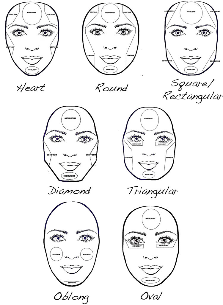 Fantastic Makeup Tips For Long Face Shapes Mugeek Vidalondon Short Hairstyles For Black Women Fulllsitofus