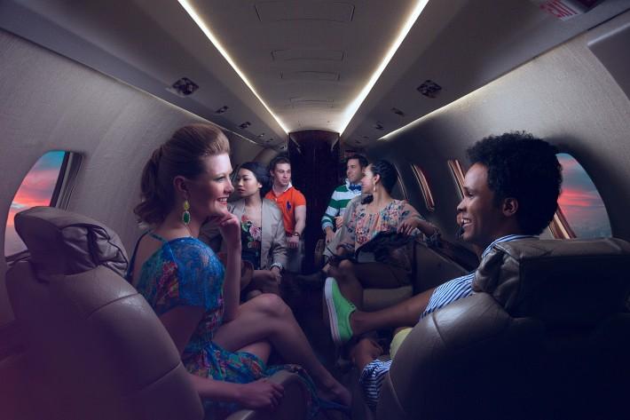 Plane To The Hamptons