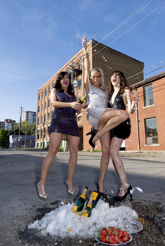 Champagne - Tecumseth Street.Toronto