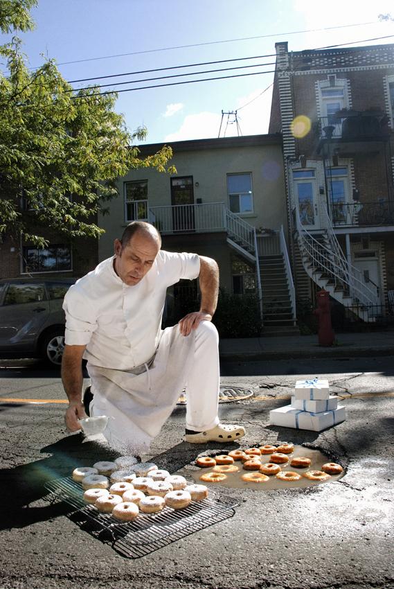 Doughnuts - Rue Belanger.Montreal