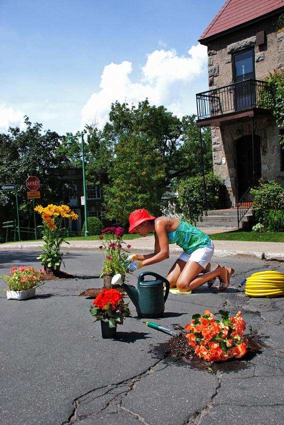 Gardener - Côte du Vesinet.Montreal