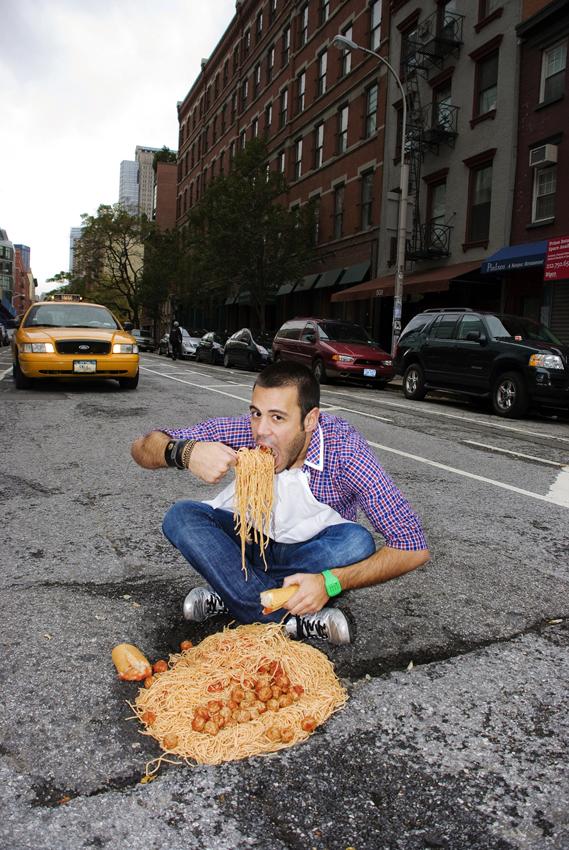 Spaghetti & Meatballs - Greenwich Street.NYC