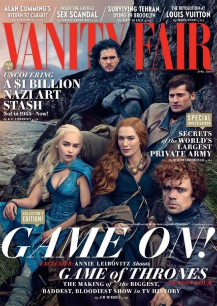 Behind the Scenes at Vanity Fair's Game of Thrones Photo Shoot-final image