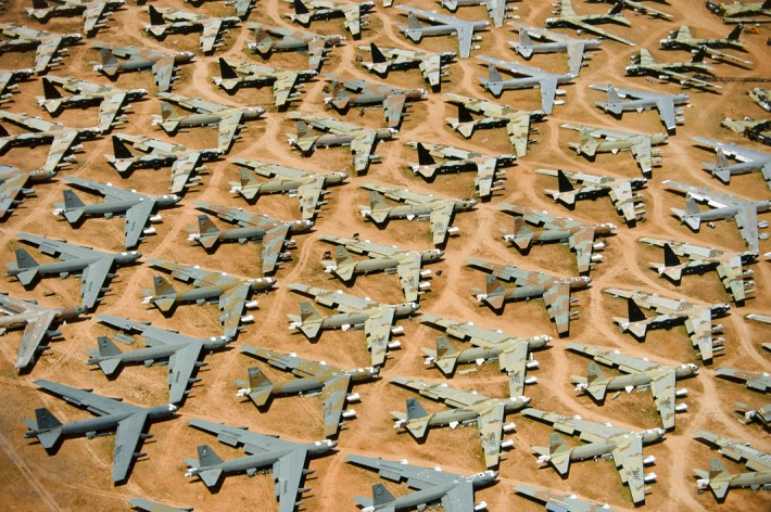 B-52 'Boneyard', Tucson, Ariz., 1993 by Alex MacLean