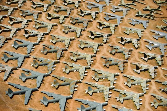 B-52 'Boneyard', Tucson, Ariz., 1993 by Alex MacLean