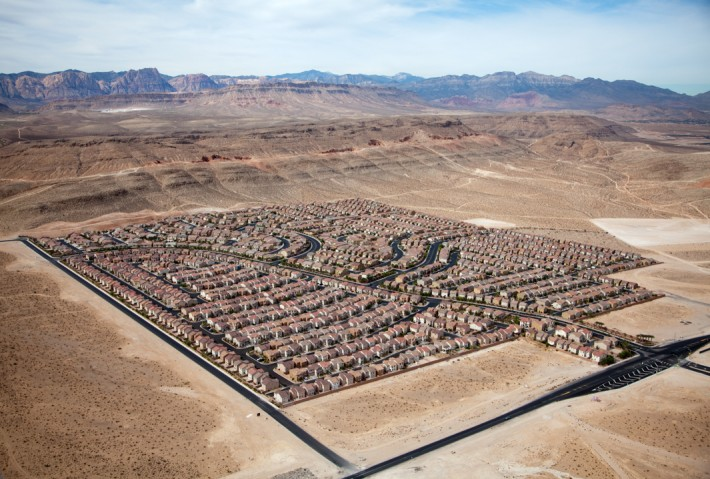 Desert Housing Block, Las Vegas, Nev., 2009 by Alex MacLean