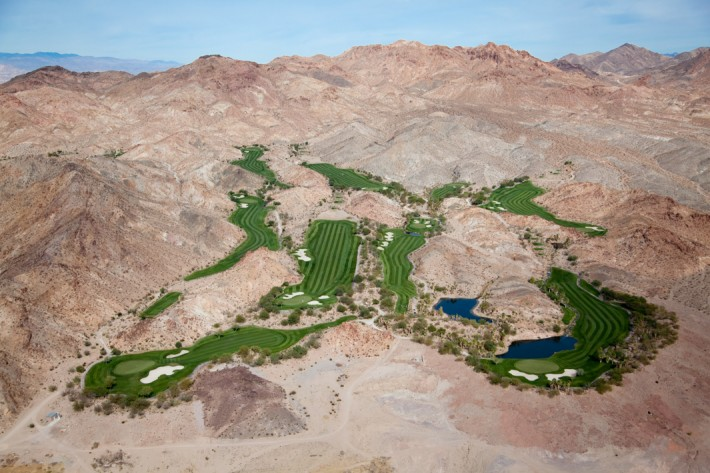 Golf Oasis in Desert Hills, Las Vegas, Nev., 2009 by Alex MacLean