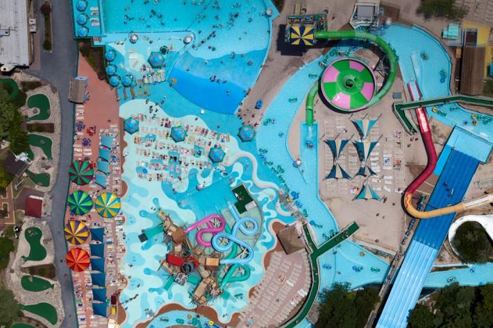 Ocean City Amusment Park, Ocean City, Md., 2011 by Alex MacLean