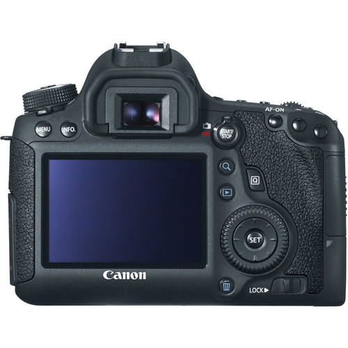 canon 6d back