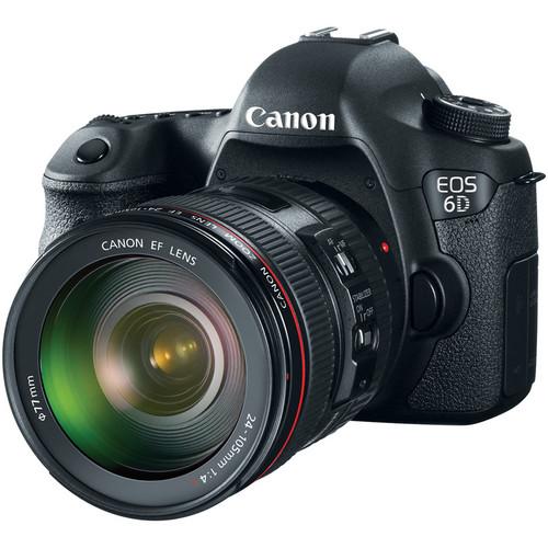 canon 6d front