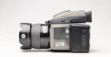 IQ250 back on a Hasselblad body does work well! Image courtesy of Digital Transitions.